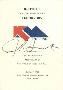 Battle of Kings Mountain Celebration 1980
