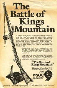 Battle of Kings Mountain TV program 1980