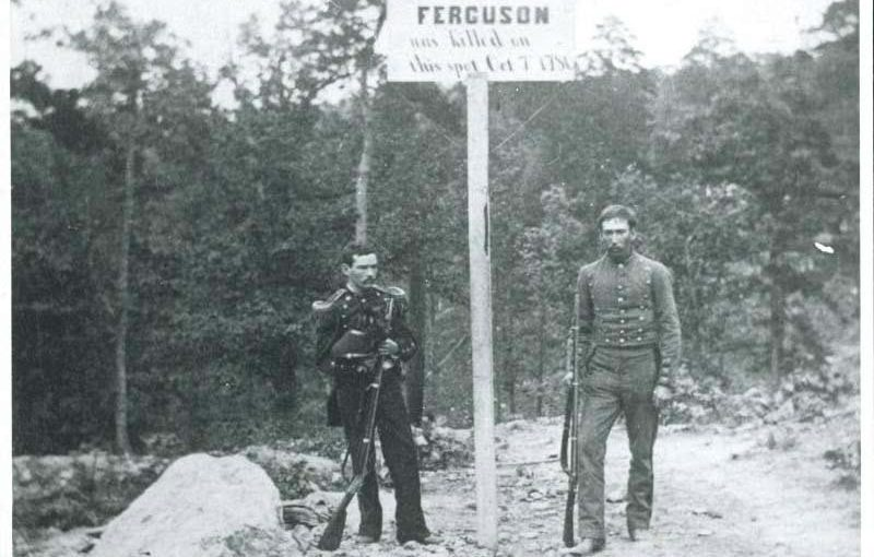 Colonel Ferguson's Death Location
