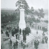 Kings Mountain Battleground First Monument