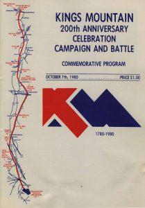 Kings Mountain 200th Anniversary Commemorative Program