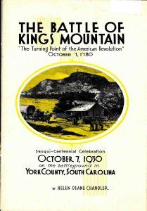 The Battle of Kings Mountain by Helen Deane Chandler